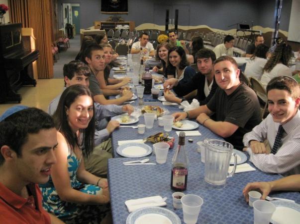 hillel dinner 2