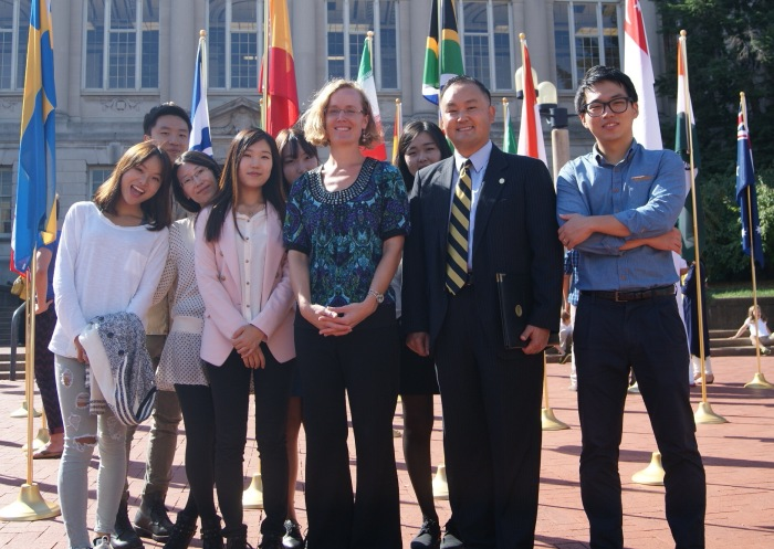 MU Asian Affairs Center offers Korean students the opportunity to participate in the I-LEAP program to gain work experience in American businesses.