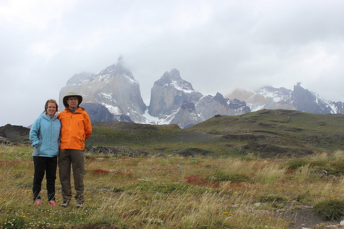 David Bergin and daughter, Leigh, stopped off at the Torres del Paine National Park on a trip to present at a conference in Punta Arenas