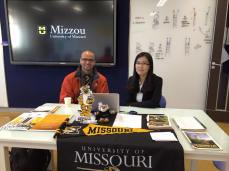 The counselors were very welcoming and greatly appreciated Mizzou reaching out to their school.